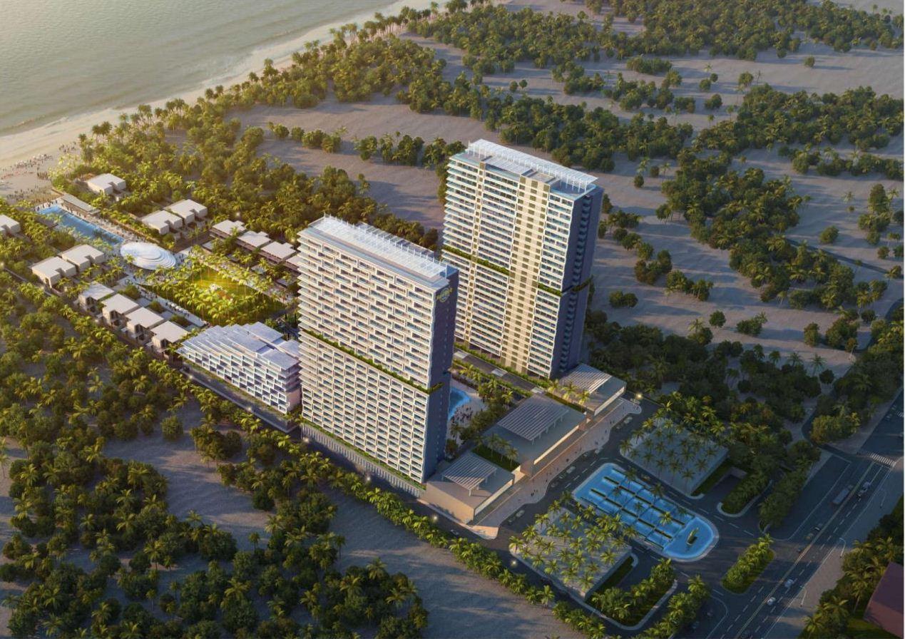 Phối cảnh Dự án Aria DaNang Hotels And Resorts