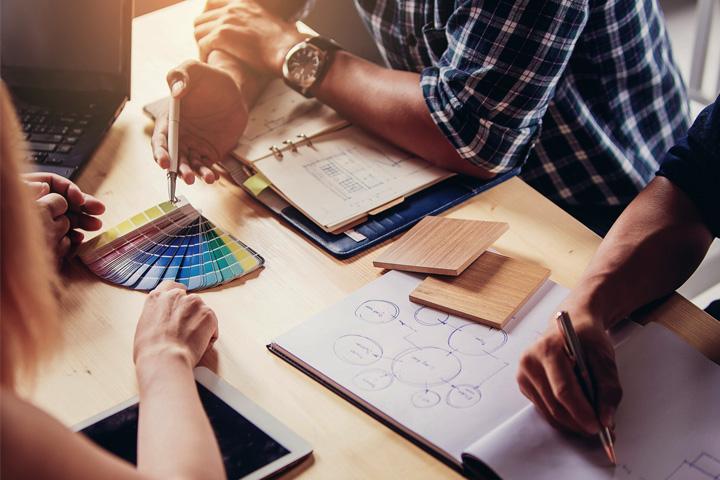 Tư vấn thiết kế giúp đưa ra các giải pháp thi công chất lượng