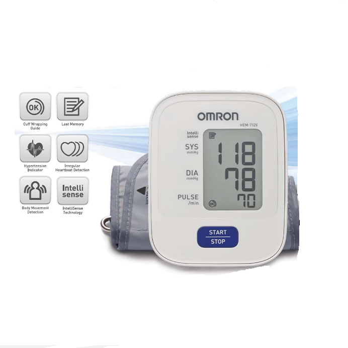 Máy đo huyết áp bắp tay Hem 7120.