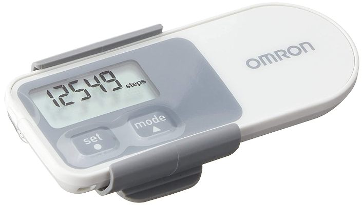 Omron Pedometer with Fever Alert