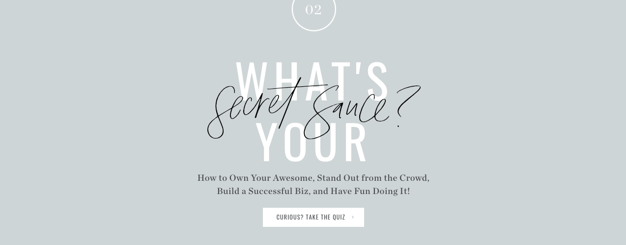 what's your secret sauce quiz cover