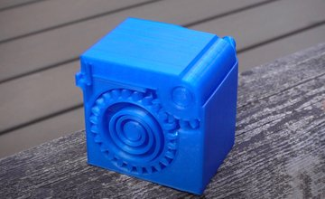 Image of Cool Things to 3D Print: Spring Loaded Box