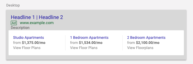 apartment ads