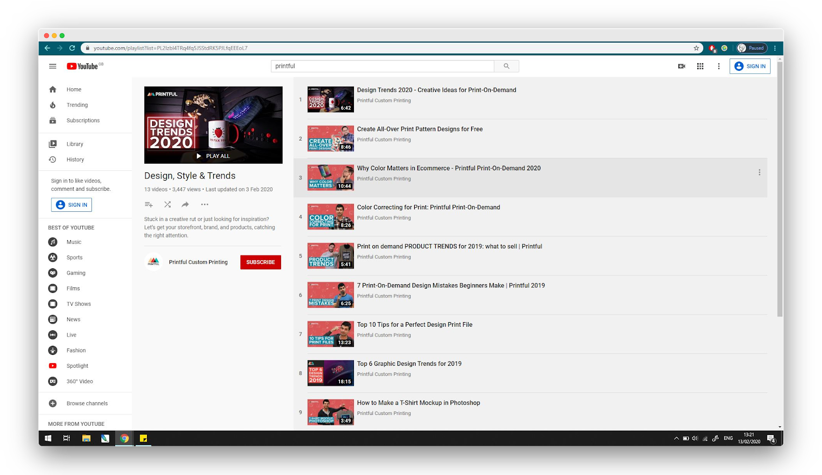 list-of-videos-about-POD-and-dropshipping-on-youtube