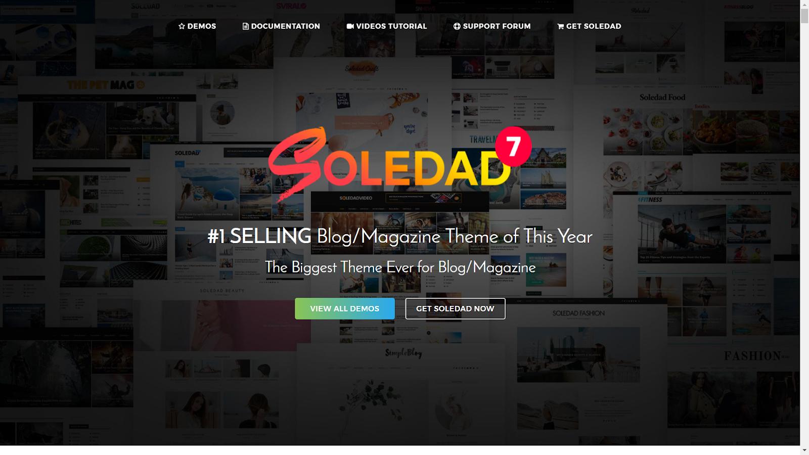 Soledad Masonry WordPress Themes