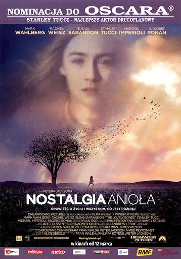 Przód ulotki filmu 'Nostalgia Anioła'