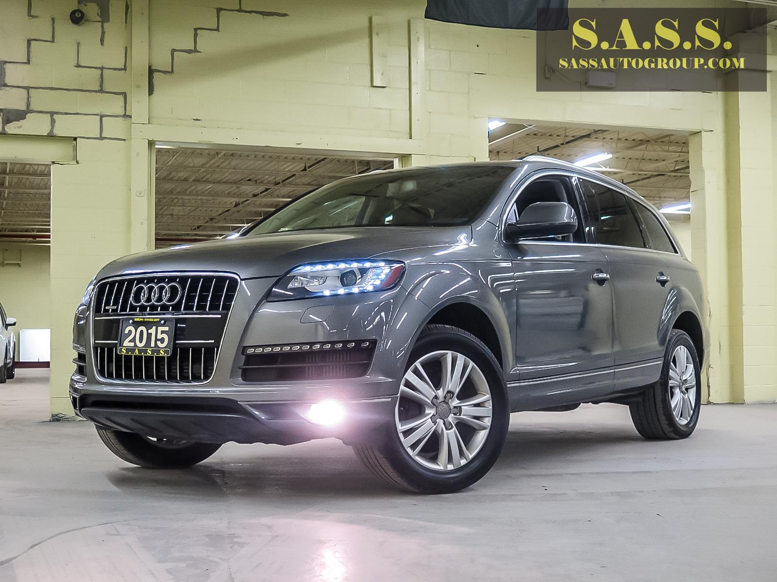 Charcoal Grey Audi Q7 Diesel Crossover car