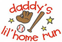 "Daddy's little home run"""