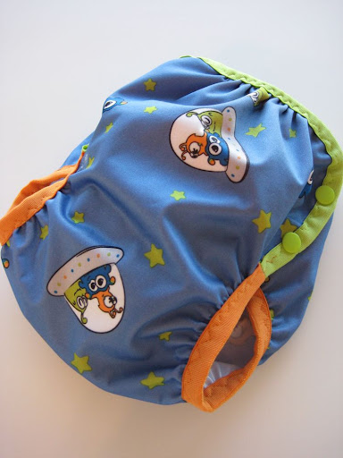 Aliens Diaper Cover