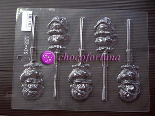 cetakan cokelat coklat lolipop ayam 90-2271