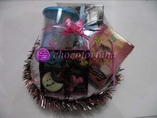 Parcel Coklat - Baby Andre