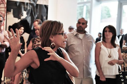 MOCA curator Bonnie Clearwater