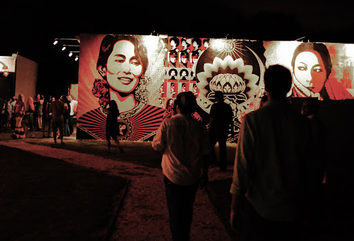 Art Walk Miami in Wynwood and Design District.