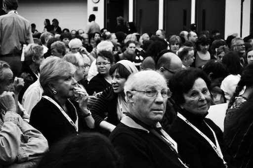 Patti Smith's Crowd | The Miami Book Fair 2010