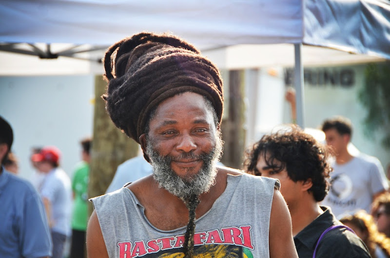 Sweatstock Rasta Man by Robby Campbell