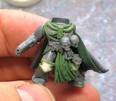 Space Marine Chaplain conversion WIP