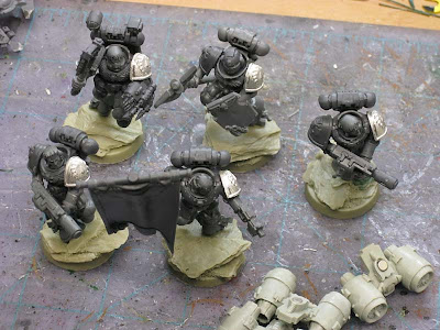 Flesh Tearers squad without magnetised jump packs