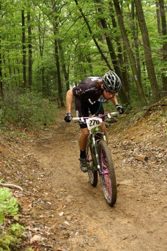 Mountain bike racing wilderness voyageurs
