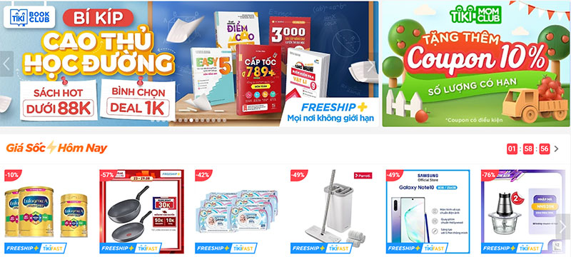Web bán hàng online uy tín tại Việt Nam
