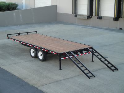 Titan Series Flatbed Equipment Trailers For Sale In Oregon
