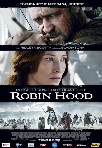 Polski plakat filmu 'Robin Hood'