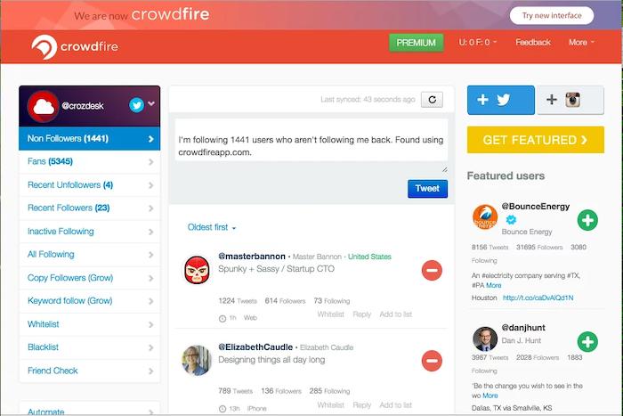 Social Media Tools for Social Media Analytics - Crowdfire