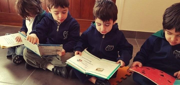 Lectura por placer en Colegio Tierra del Sur Pinamar, Buenos Aires, Argentina