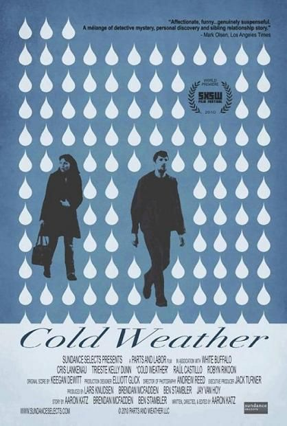 Cold Weather, Movie, poster