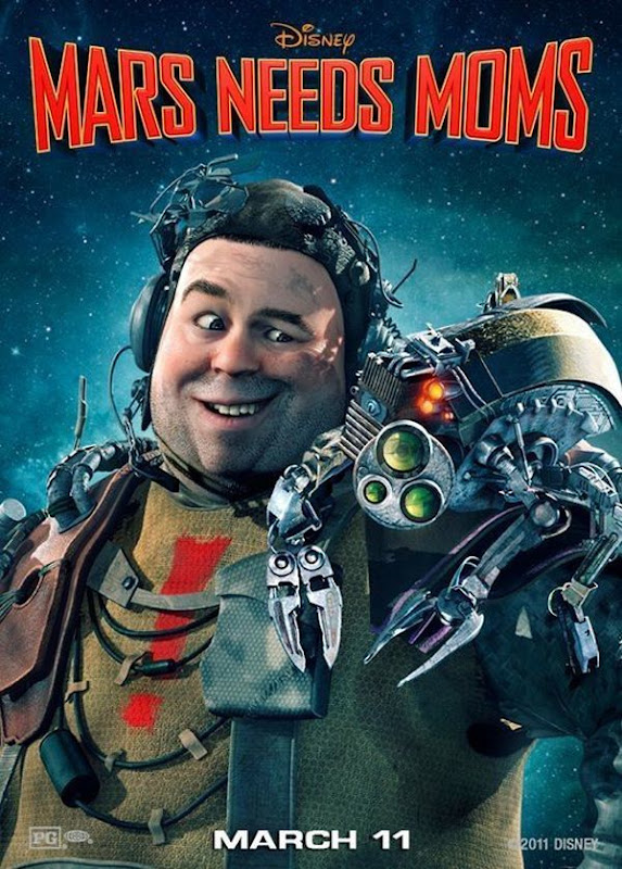 Mars Needs Moms, New, movie, Posters