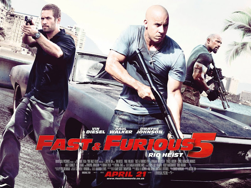 New, Poster, Fast Five
