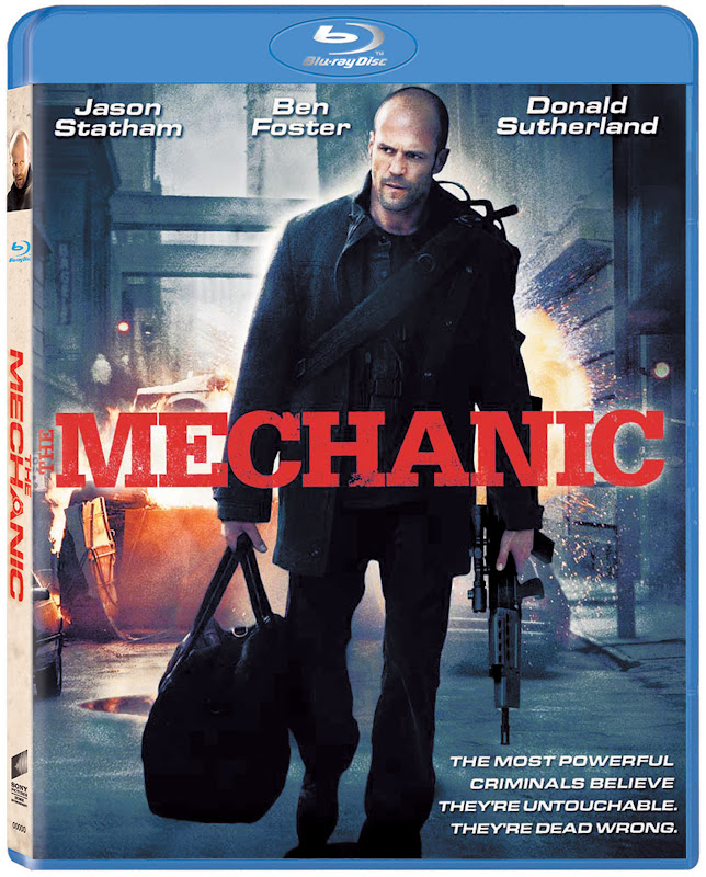 The Mechanic,Blu-ray, Cover