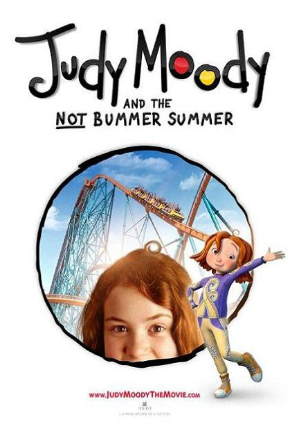 Judy Moody and the Not Bummer Summer, poster