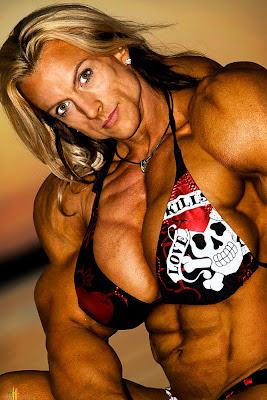 Female Bodybuilder Jody Wald