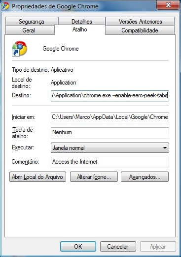 aero peek chrome Como ativar Aero Peek no Google Chrome