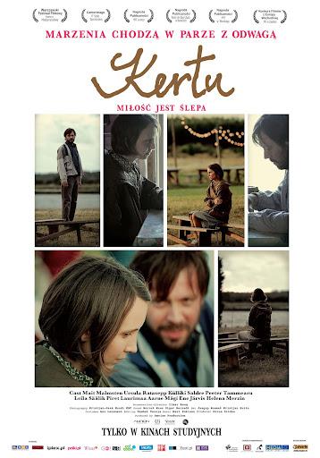 Polski plakat filmu 'Kertu. Miłość Jest Ślepa'
