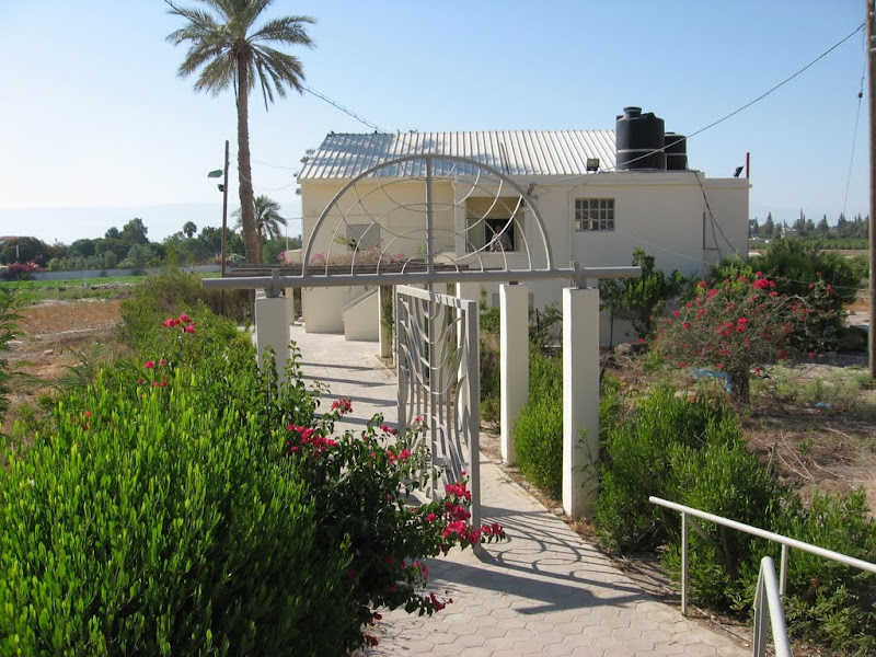 Shalom al Israel Synagogue in Jericho seen from the outside