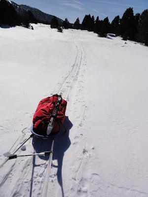 Ski de randonnée sur les plateaux du Vercors