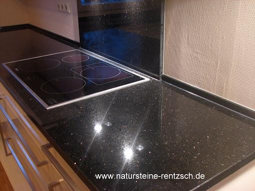 k che arbeitsplatte platte granit galaxy granitplatte ebay. Black Bedroom Furniture Sets. Home Design Ideas