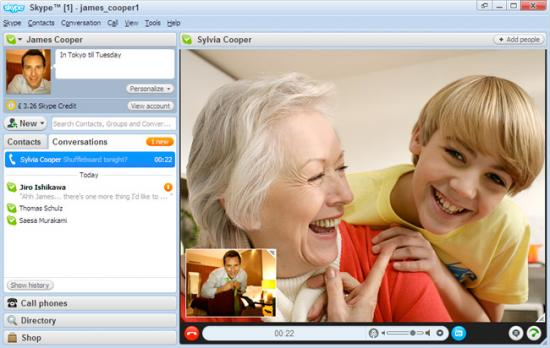 Skype latest version video calling