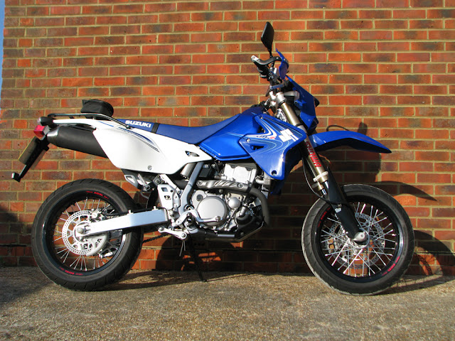 Dan's DRZ as bought - 106 miles from new