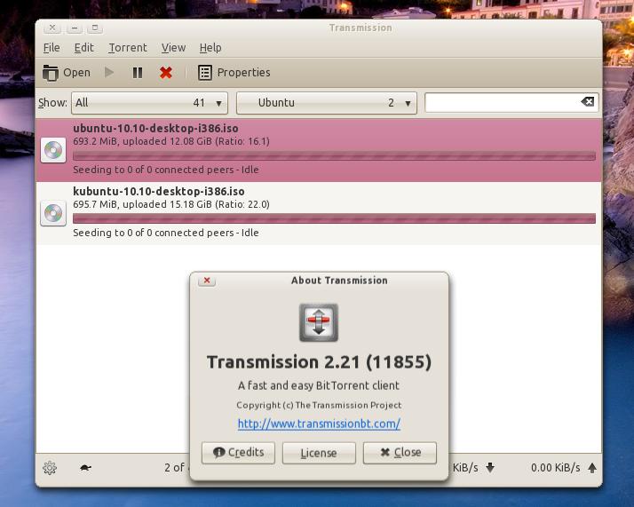 Install Transmission BitTorrent Client 2 21 In Ubuntu (PPA) ~ Web
