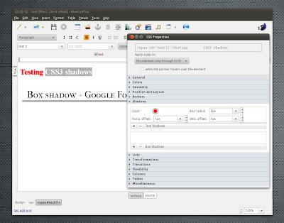 BlueGriffon 1.0 Ubuntu