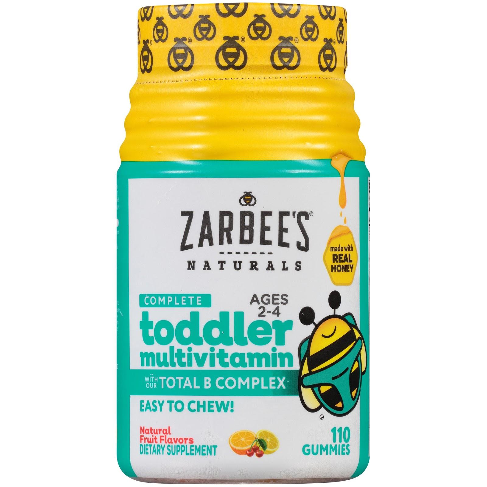 Zarbee's Naturals Complete Toddler Multivitamin