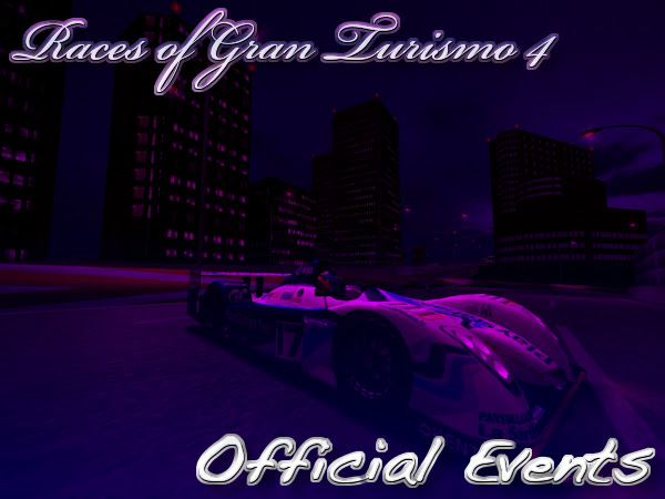 Gran Turismo 4 Official Event Races