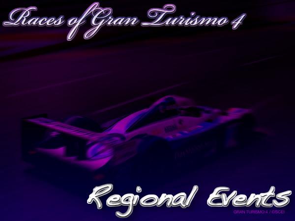 Gran Turismo 4 Regional Event Races