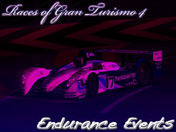 Gran Turismo 4 Endurance Event Races