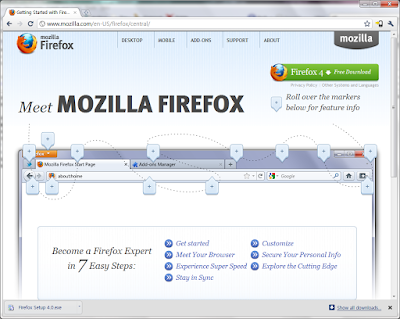 firefox UI changed like a google chrome