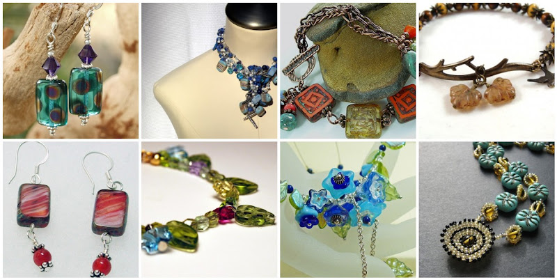 Handmade Jewelry Using Czech Glass Beads