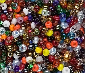 Seed and Bugle Bead Mix from FireMountainGems.com