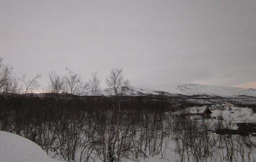 Kilpisjärvi, kijkend naar het Westen